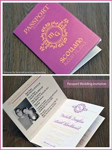 passport wedding invitations creative box With wedding invitation box type