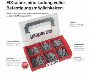 Fischer Sx Dübel : fischer fixtainer die sx d bel box kaufen 4048962219869 ~ Buech-reservation.com Haus und Dekorationen