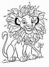Disney Coloring Pages Walt Simba Characters Fanpop sketch template