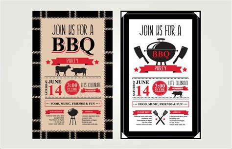 52+ BBQ Invitation Templates PSD Vector EPS AI