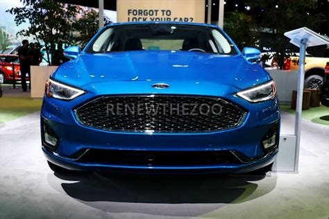 ford fusion sport redesign release date  specs