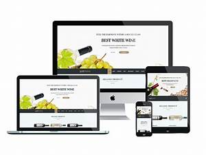et wine free responsive wine joomla template With what is a responsive template