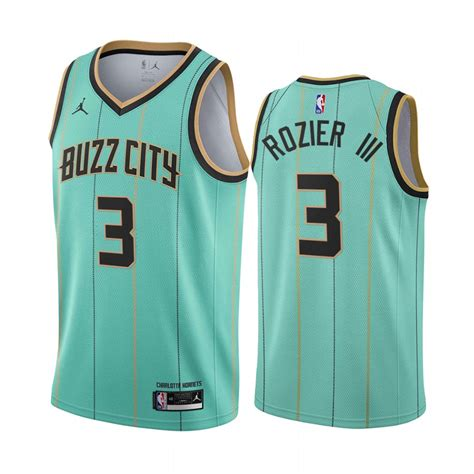 Between leaks and official releases, we've gotten a glimpse of almost every nba franchise's alternate jerseys. Terry Rozier III Mint Green Jersey 2020-21 Hornets #3 Buzz ...