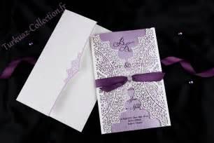 faire part mariage fr magnifique faire part mariage violet