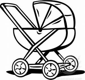 Cartoon Baby Carriage - Cliparts.co