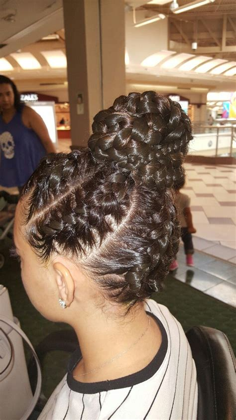 goddess braids up do braids pinterest