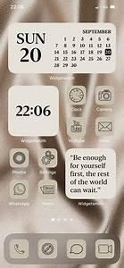 ios14, phone, aesthetic, home, screen, , , video, , in, 2020