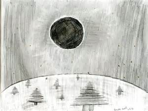Solar Eclipse Drawing