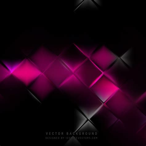 Abstract Black Background Design by Abstract Black Pink Square Background Design