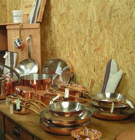 mauviel cuisine mauviel ou l 39 de travailler le cuivre culinaire mag
