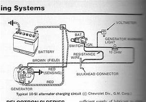 Internal Alternator Regulator Wiring Diagram