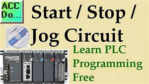 Learn Plc Programming - Free 4   Stop    Jog