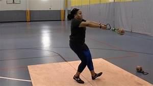Workout Wednesday  Monique Hardy U0026 39 S Weight Throw Routine