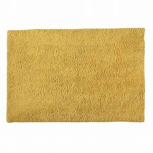 tapis a poils longs jaune 120 x 180 cm magic maisons du With tapis à poils longs
