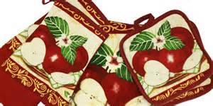 apple kitchen towel sets apple kitchen stuff