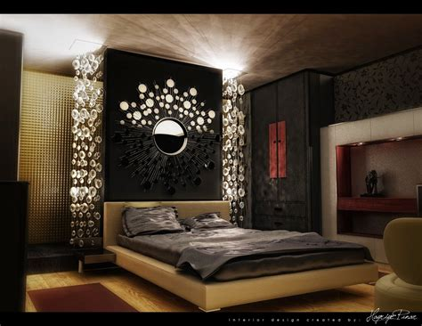 Glamorous Bedroom Decorating Ideas  Kinjenk House Design