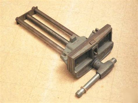 vintage columbian woodworkers vise usa quick release