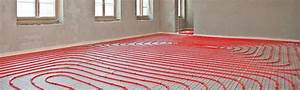 Pompe à Chaleur Plancher Chauffant Prix : plancher chauffant tous les avantages du chauffage au sol ~ Premium-room.com Idées de Décoration