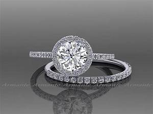 buy white sapphire wedding sets online With white sapphire wedding ring sets