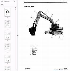 Komatsu Excavators Pc200