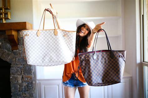 spot  fake louis vuitton neverfull bag brands blogger