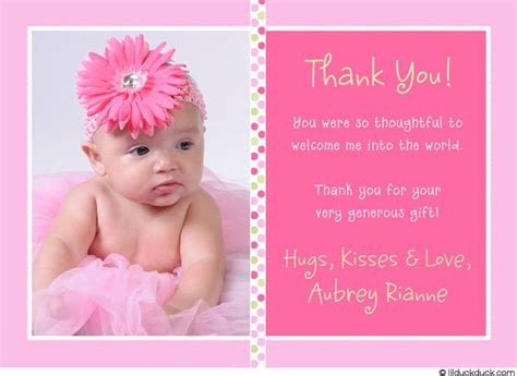 How To Write Thank You Cards For Baby Shower by Baby Saying Thank You Baby Gift Thank You Cards
