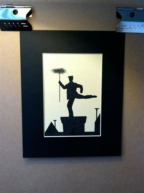 disney mary poppins chimney sweep silhouette disney