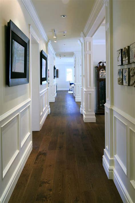 hallways hardwood wainscotting wainscoting styles