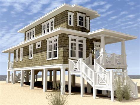 Modern Beach House Plans On Stilts