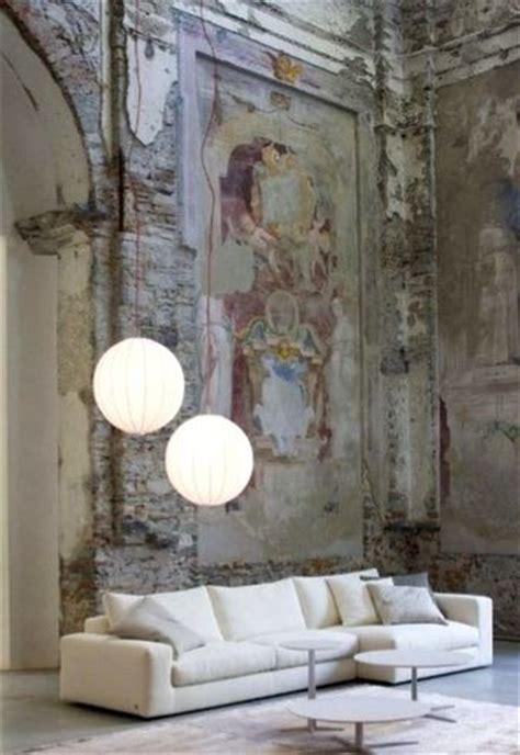 ideas  distressed walls  pinterest