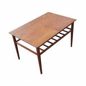 vintage mid century modern coffee table ebay With small mid century modern coffee table