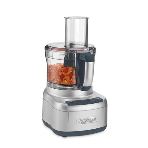 cuisinart home cuisine cuisinart elemental food processor fp8sv the home depot