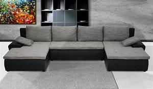 Couch In U Form Günstig : couchgarnitur u form sofa mit schlaffunktion sofagarnitur sydney wohnlandschaft ebay ~ Bigdaddyawards.com Haus und Dekorationen