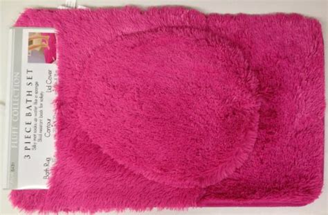 Pink Bathroom Rug Set by Pink Bathroom Sets