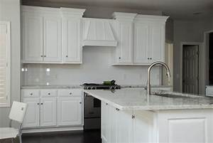 custom white transitional kitchen by belak woodworking lls With kitchen colors with white cabinets with custom band stickers