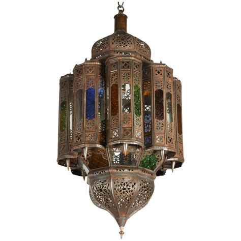 moroccan pendant light vintage moroccan mamounia glass pendant for at 1stdibs