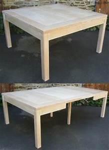 Table A Rallonge 20 Personnes : table carree 8 personnes avec rallonge ~ Teatrodelosmanantiales.com Idées de Décoration