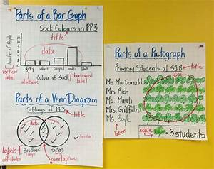 Anchor Charts For Bar Graph  Venn Diagram And Pictograph