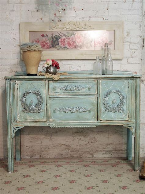 shabby chic painted cottage chic shabby aqua by paintedcottages