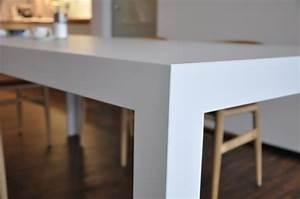 Bulthaup C2 Tisch : esstische d3 kaolin durchgef rbt fugenlos tisch c2 bulthaup m bel von k che design in fulda ~ Frokenaadalensverden.com Haus und Dekorationen