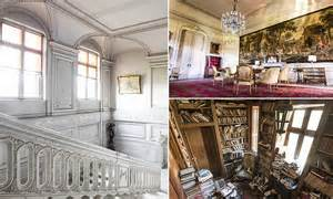 eerie photographs  belgian chateau abandoned