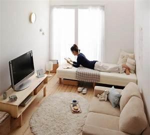 83 photos comment amenager un petit salon archzinefr With tapis enfant avec bout canapé bois
