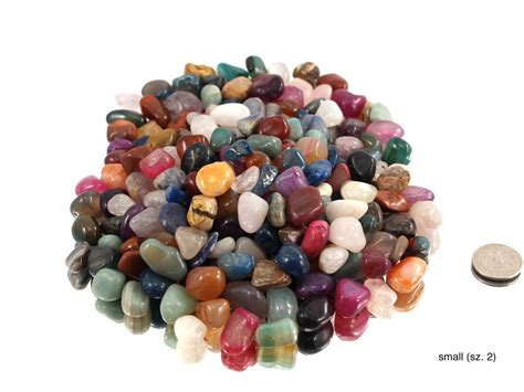 colorful tumble polished mix for sale hausen rock treasures wholesale your rock