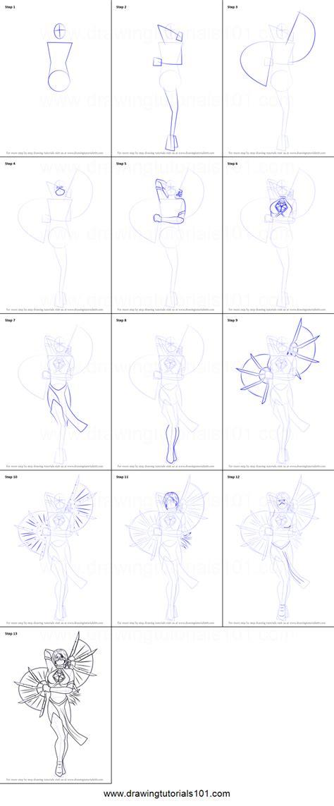 draw kitana  mortal kombat printable step