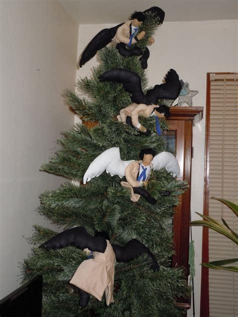 castiel christmas tree topper castiel tree by wolfie180g on deviantart
