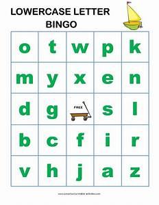 letter recognition bingo games bingo games game boards With letter recognition board games