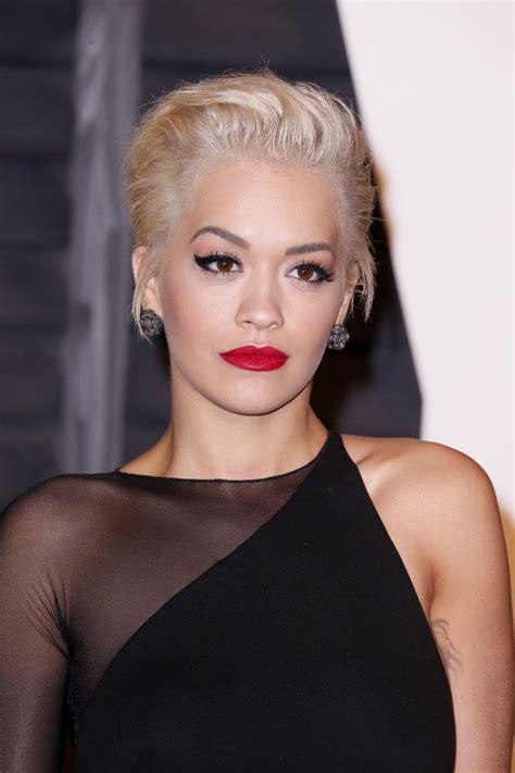 Rita Ora - 2015 Vanity Fair Oscar Party in Hollywood ...