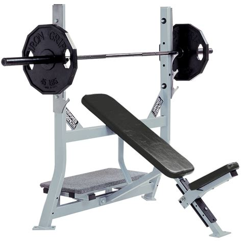 Incline Bench by Hammer Strength Olympic Incline Bench Fitness