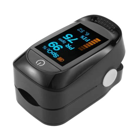 Pulse Blood Oxygen Saturation Meter Fingertip Oximeter
