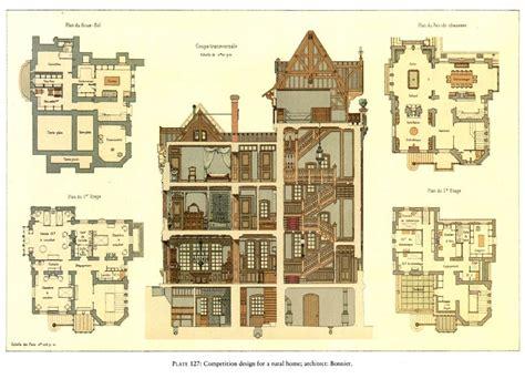 Viktorianisches Haus Grundriss by Enchanting 7 Historic House Plans Designs 17 Best Ideas